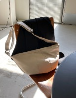 Croissant leather bag
