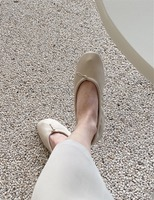 On soft flat shoes