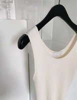 Crop golgi sleeveless